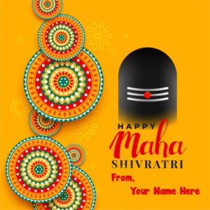 2019 Happy Mahashivratri Wishes Name Create Image
