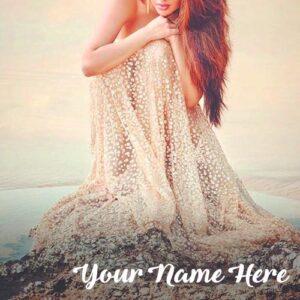 Stylish Hair Girls Photo Profile Set Cute Name Write Images
