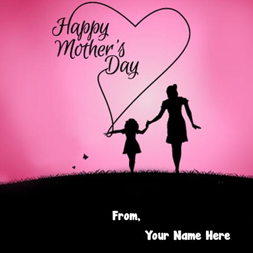 2019 Happy Mothers Day Photo Send Name Wishes Image Create