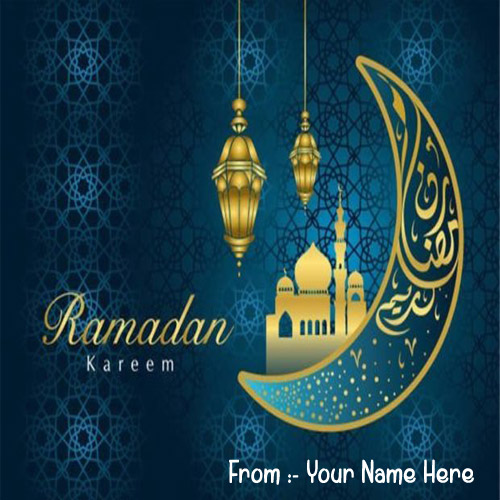 2019 Happy Ramadan Eid Wishes Name Images Download