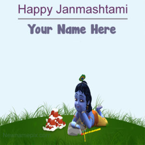 Little Krishna Happy Janmashtami Quotes