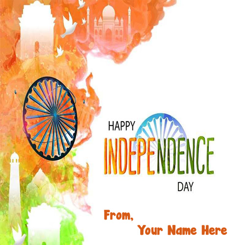 My Name Profile Independence Day Picture