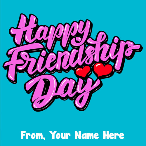 My Name Write On Friendship Day Pictures
