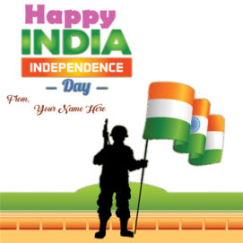 Name Write Indian Independence Day Pics