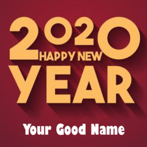 Personal Name Wishes New Year 2020 Pictures Download